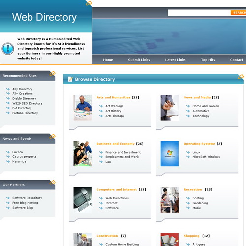 Web Directory PHPLD Template