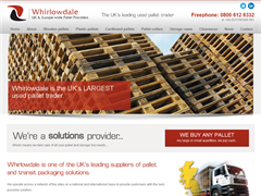 Whirlowdale - Wooden and Plastic Pallets