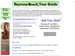 Daytona Beach Accommodations Guide