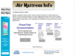 Queen Inflatable Bed Guide - Ratings of Air Mattress Pumps