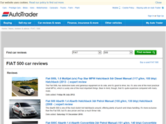 Buy Your Used FIAT 500 at Auto Trader