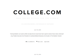 Online College and Campus College Search