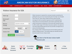 Visitors Medical Insurance