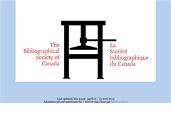 Bibliographical Society of Canada