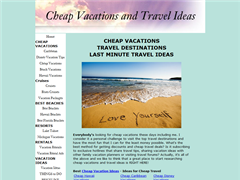 Cheap Family Vacations and Travel Ideas