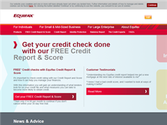 Equifax Online Credit Check