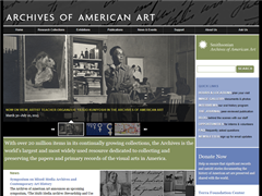 Archives of American Art, Smithsonian Institution